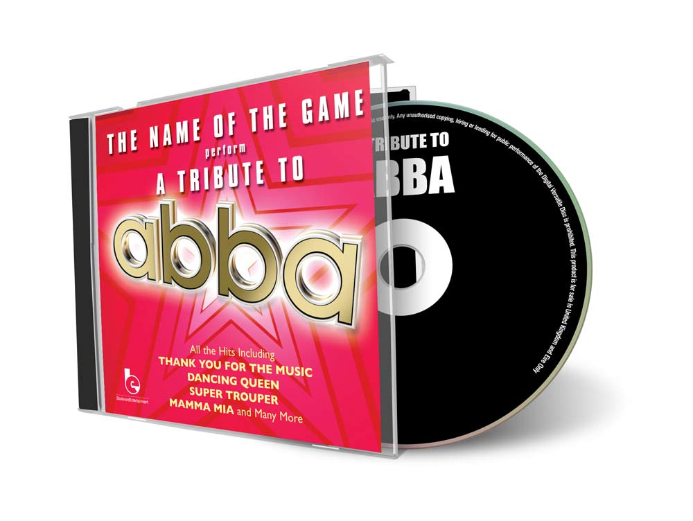 Tribute to ABBA CD Cover