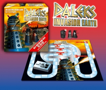 Dalek Movie Board Game – Abandoned project