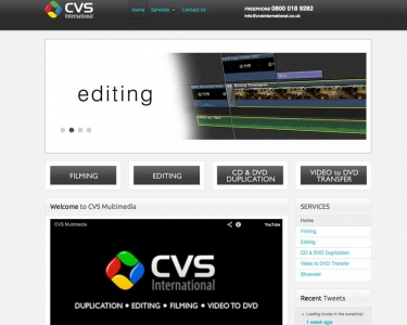 CVS Multimedia Website