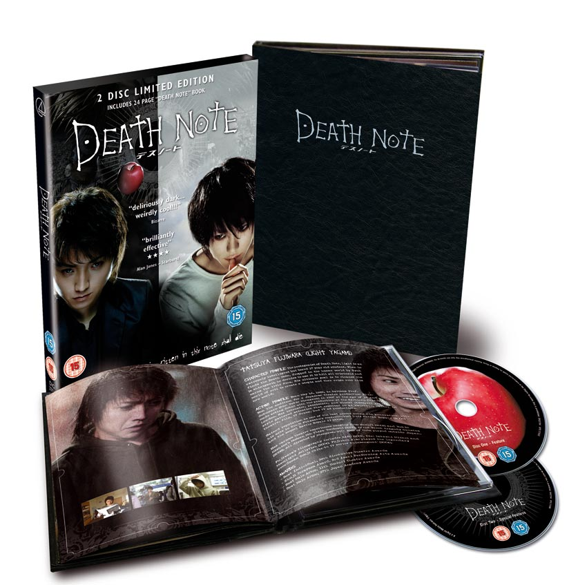Death Note Special Edition Packaging