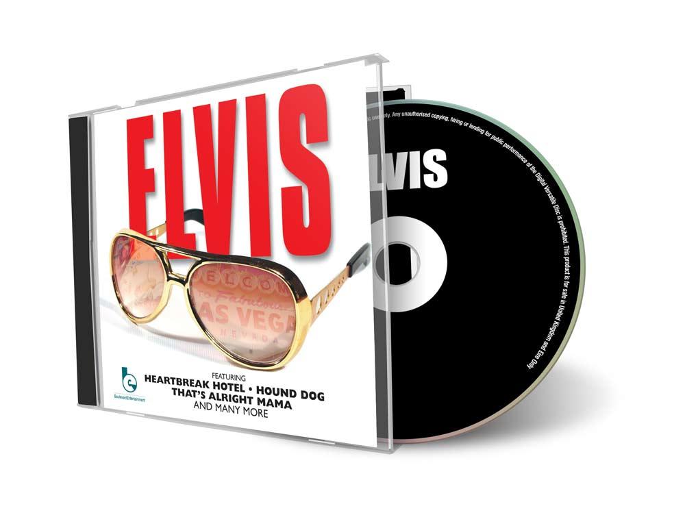 Elvis CD Cover