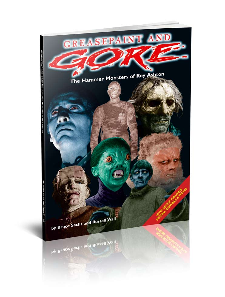 Greasepaint and Gore – The Hammer Monsters of Roy Ashton