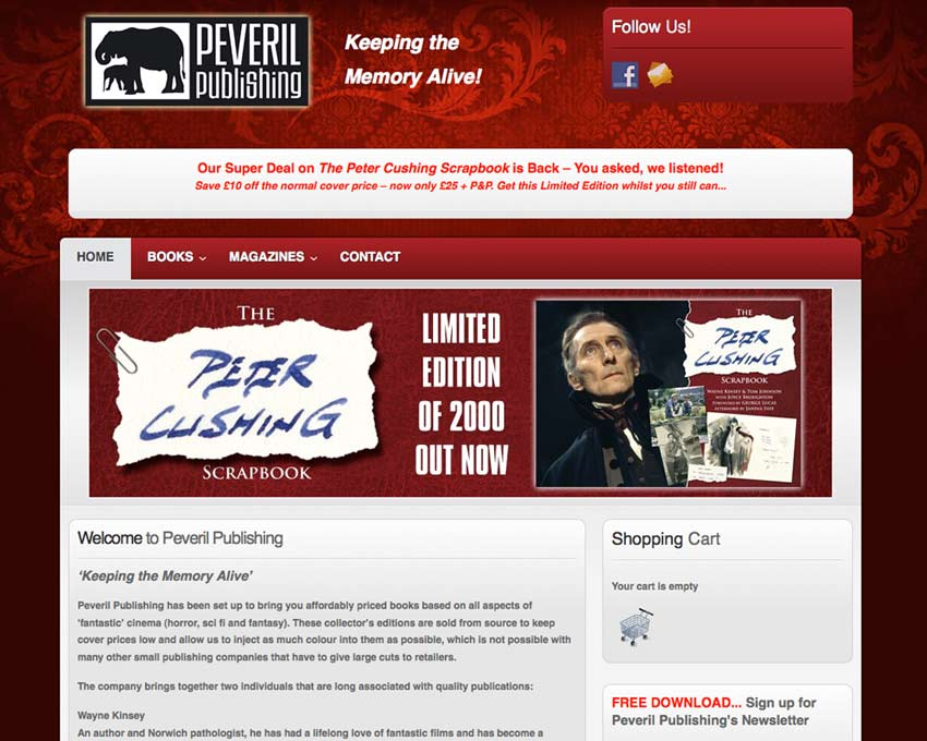 Peveril Publishing Website