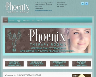 Phoenix Therapy Rooms Website