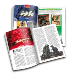 Space Monsters Magazine - created as both print and PDF online version