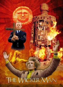 Wicker Man Montage – Created from mono photos
