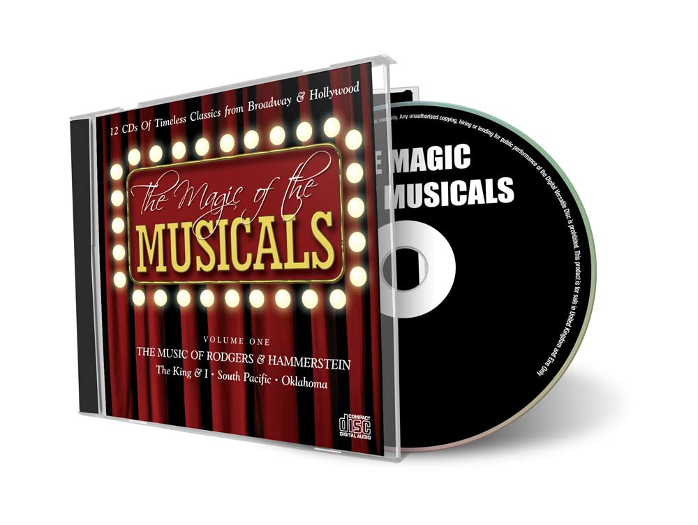 Magic of the Musicals CD Cover