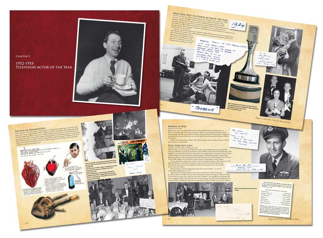 The Peter Cushing Scrapbook